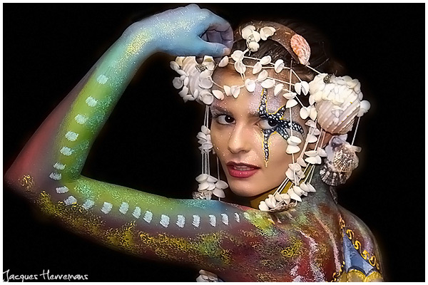 Samui Body painting 2011