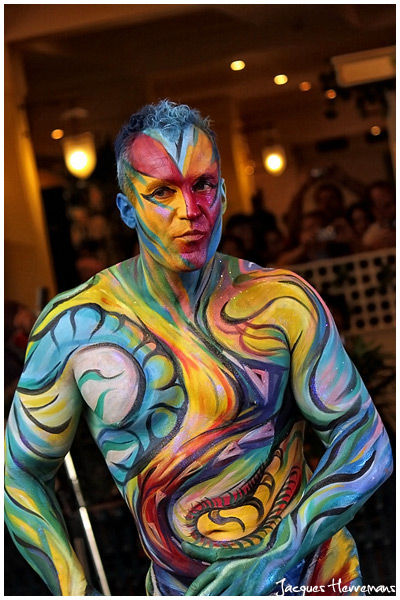 Body painting a Koh Samui